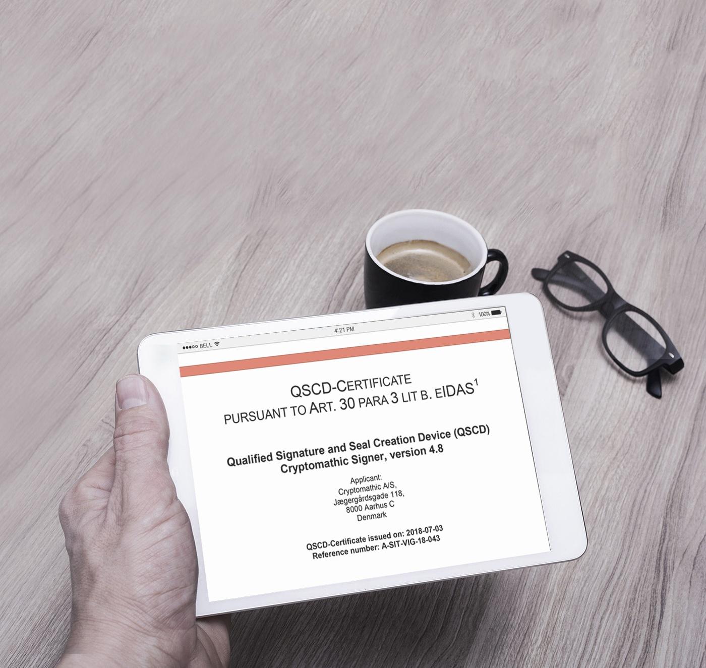 QSCD-Certificate