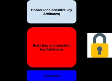iIillustration: a generic TR-31 key block