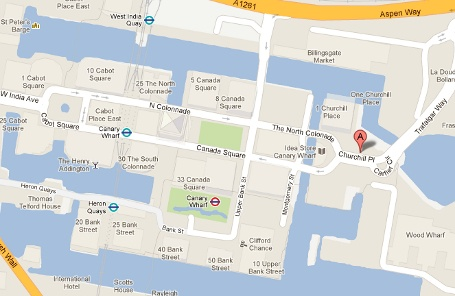 Barclays map
